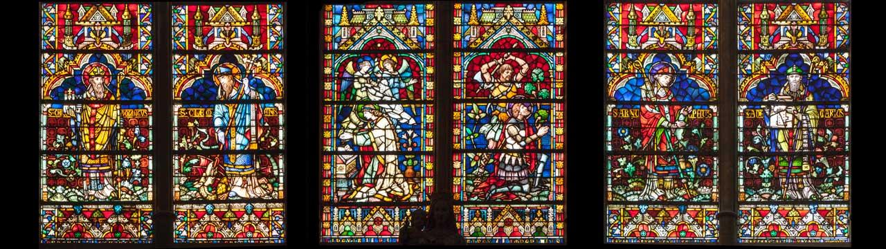 Vitraux Metz visites – cathédrale de metz